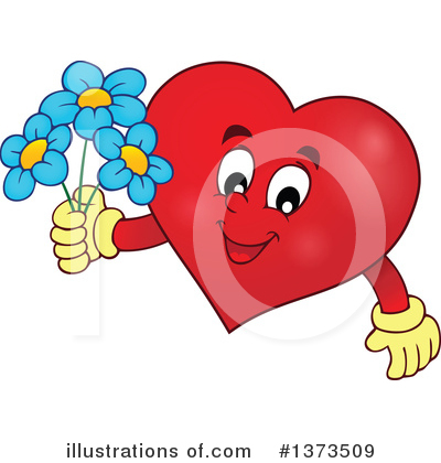 Heart Clipart #1373509 by visekart