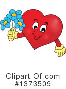 Royalty-Free (RF) Heart Clipart Illustration #1373509