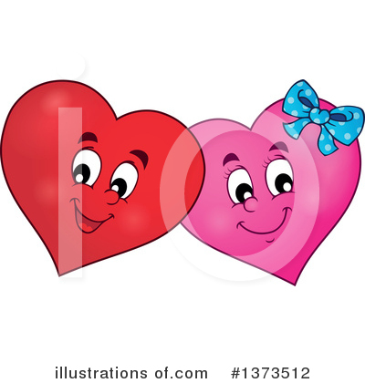 Heart Clipart #1373512 by visekart