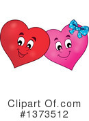 Royalty-Free (RF) Heart Clipart Illustration #1373512