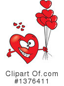 Royalty-Free (RF) Heart Clipart Illustration #1376411