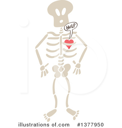 Heart Clipart #1377950 by Zooco