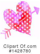 Royalty-Free (RF) Heart Clipart Illustration #1428780