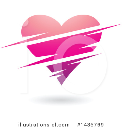 Royalty-Free (RF) Heart Clipart Illustration by cidepix - Stock Sample #1435769