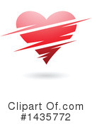 Royalty-Free (RF) Heart Clipart Illustration #1435772