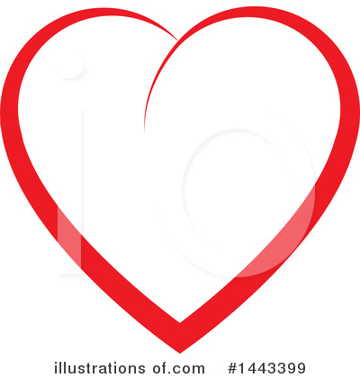 Heart Clipart #1443399 by ColorMagic