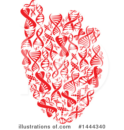 Dna Clipart #1444340 by Vector Tradition SM