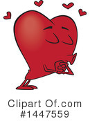 Heart Clipart #1447559 by toonaday