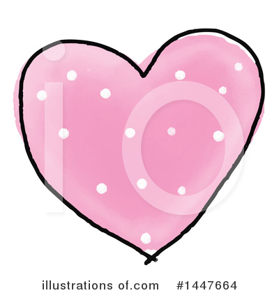 Royalty-Free (RF) Heart Clipart Illustration by KJ Pargeter - Stock Sample #1447664