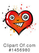 Heart Clipart #1456980 by Domenico Condello