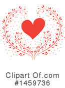 Heart Clipart #1459736 by Cherie Reve