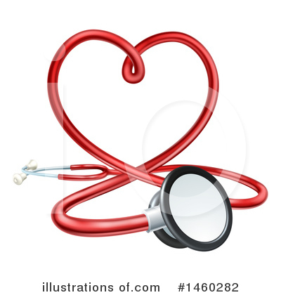 Stethoscope Clipart #1460282 by AtStockIllustration