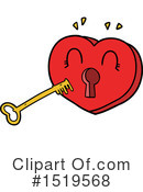 Heart Clipart #1519568 by lineartestpilot