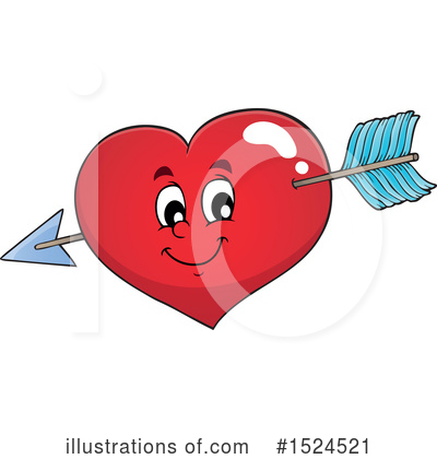 Heart Clipart #1524521 by visekart