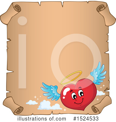 Royalty-Free (RF) Heart Clipart Illustration by visekart - Stock Sample #1524533