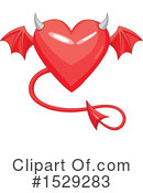 Heart Clipart #1529283 by Pushkin