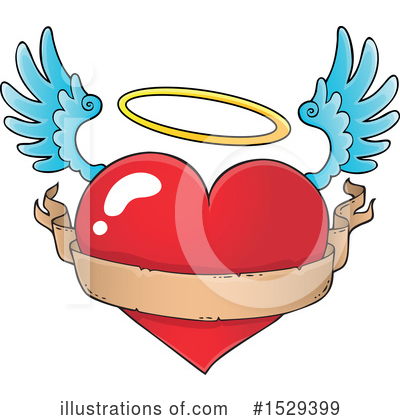 Royalty-Free (RF) Heart Clipart Illustration by visekart - Stock Sample #1529399