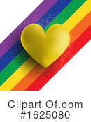 Heart Clipart #1625080 by KJ Pargeter