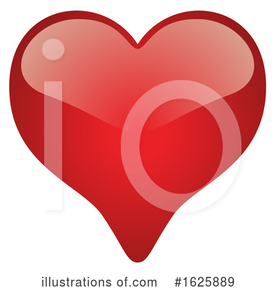 Heart Clipart #1625889 by dero