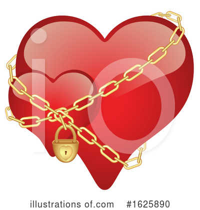 Royalty-Free (RF) Heart Clipart Illustration by dero - Stock Sample #1625890