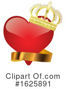 Heart Clipart #1625891 by dero