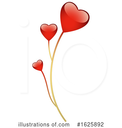 Heart Clipart #1625892 by dero
