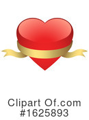 Heart Clipart #1625893 by dero