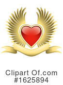 Heart Clipart #1625894 by dero