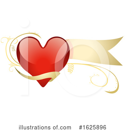Heart Clipart #1625896 by dero