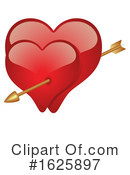 Heart Clipart #1625897 by dero