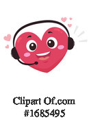 Heart Clipart #1685495 by BNP Design Studio