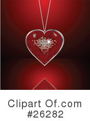 Royalty-Free (RF) heart Clipart Illustration #26282