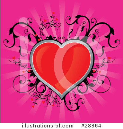 Hearts Clipart #28864 by Paulo Resende