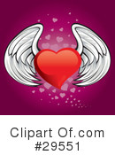 Royalty-Free (RF) heart Clipart Illustration #29551