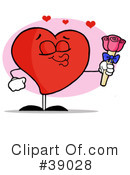Royalty-Free (RF) heart Clipart Illustration #39028