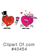 Royalty-Free (RF) heart Clipart Illustration #40454