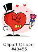 Royalty-Free (RF) heart Clipart Illustration #40455