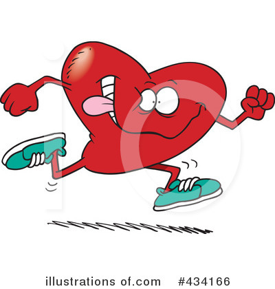 Jogging Clipart #434166 by toonaday