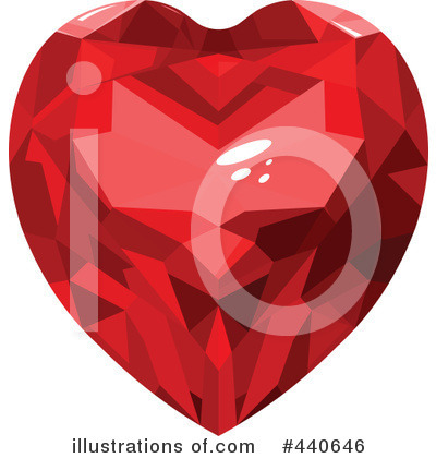 Diamond Heart Clipart #440646 by Pushkin