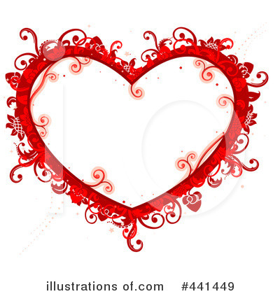 Royalty-Free (RF) Heart Clipart Illustration #441449 by BNP Design ...
