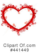 Royalty-Free (RF) heart Clipart Illustration #441449