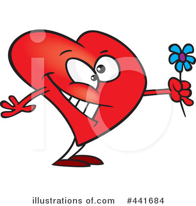 Heart Character Clipart #441684 by toonaday