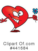 Royalty-Free (RF) Heart Clipart Illustration #441684