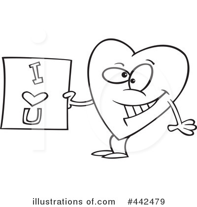 Heart Character Clipart #442479 by toonaday