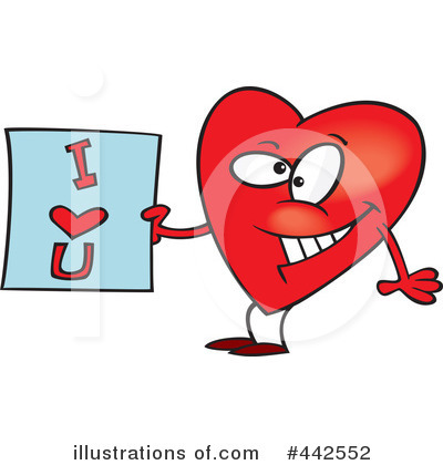 Heart Character Clipart #442552 by toonaday