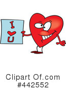 Royalty-Free (RF) Heart Clipart Illustration #442552