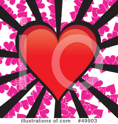 Heart Clipart #49903 by Arena Creative