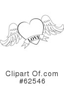 Heart Clipart #62546 by Pams Clipart