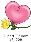 Heart Clipart #74009 by Pams Clipart