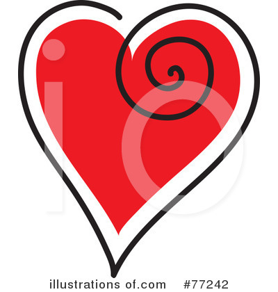 Hearts Clipart #77242 by Rosie Piter